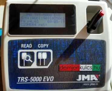 <h2>TRS-5000 chipmásoló gépünk</h2>
